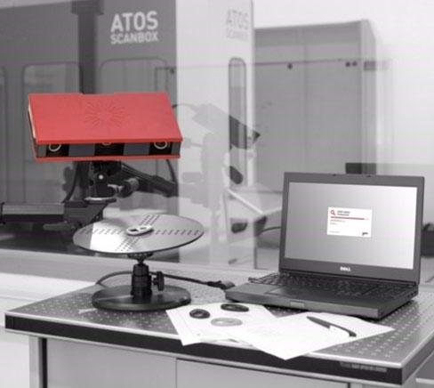 3D -Skanneri ja mittalaitteisto